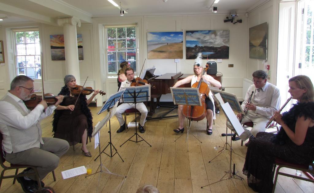 Aspidistra S Drawing Room Orchestra