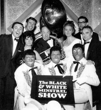 The black and white minstrel show for Black and white shows